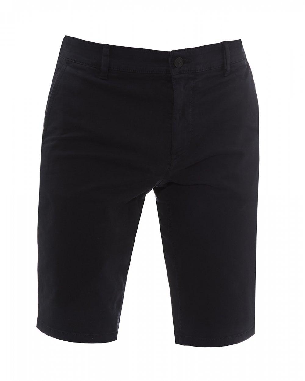 9c0d63415 BOSS Casual Mens Schino Slim Fit Navy Blue Shorts