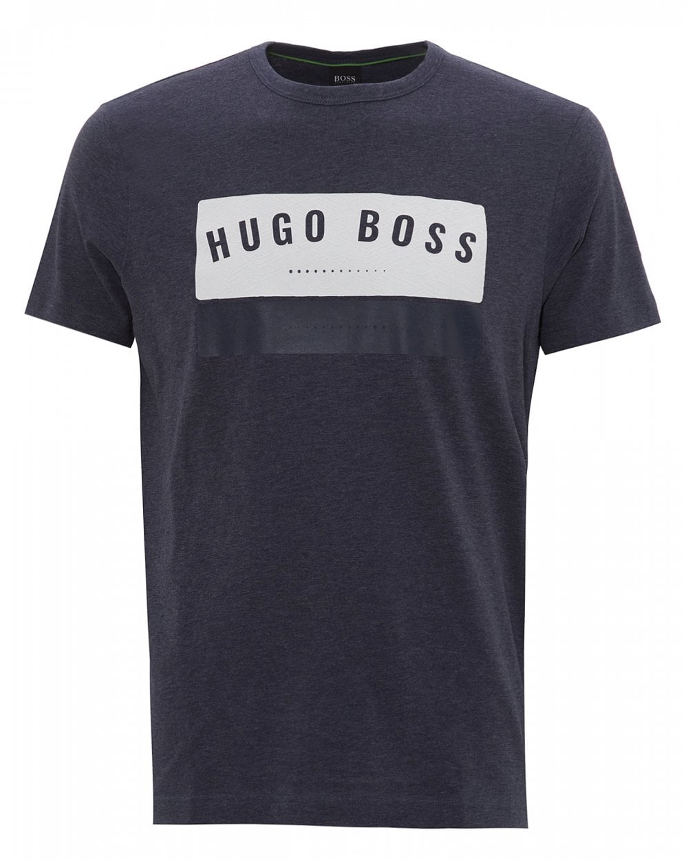 3a21515fb BOSS Mens Tee 1 Logo T-Shirt, Denim Blue Tee
