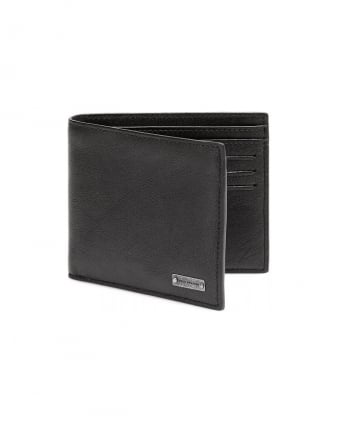 Brivio Black Leather Billfold Wallet