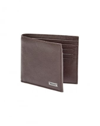 Brivio Brown Leather Billfold Wallet