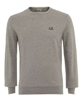 Mens Jumper, Grey Logo Sweatshirt