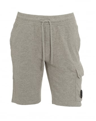 Mens Sweat Short Lens Grey Shorts