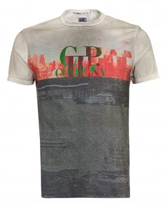Mens T-Shirt, London Graphic Print Tee