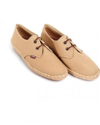Camel 'Seville Canvass' Lace Up Shoes