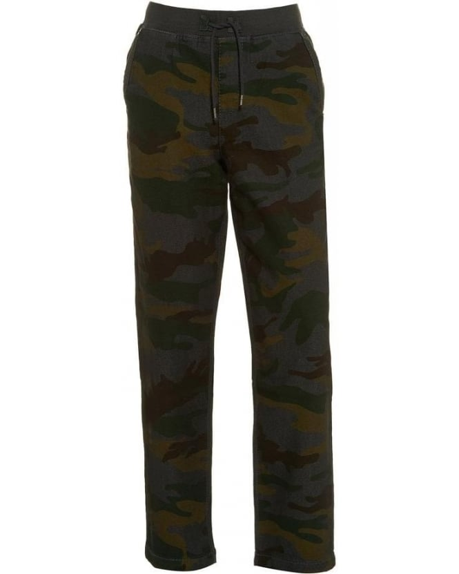 True Religion Jeans Camouflage Print Track Pants