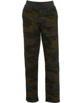 Camouflage Print Track Pants