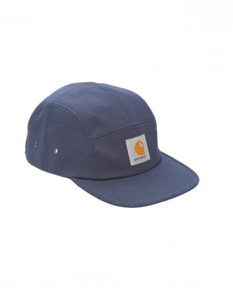 Mens Hat, Navy Blue Logo Baseball Cap