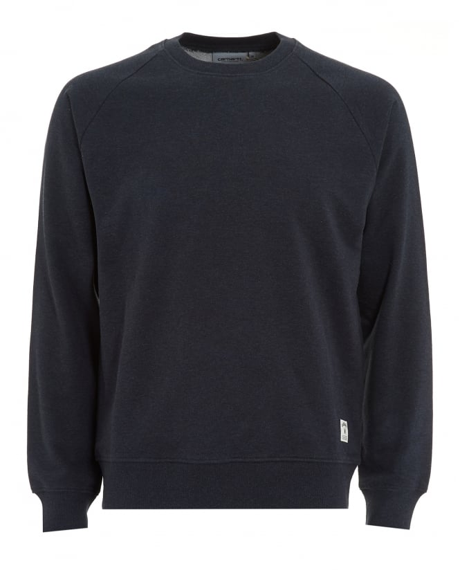 Carhartt Mens Sweatshirt, Holbrook Navy Heather Jumper