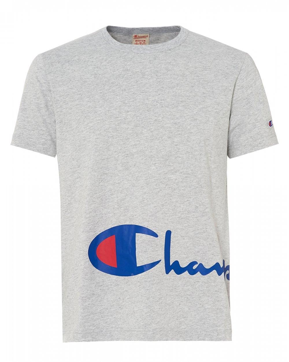 ebd25644a4cb Champion Mens Reverse Script T-Shirt