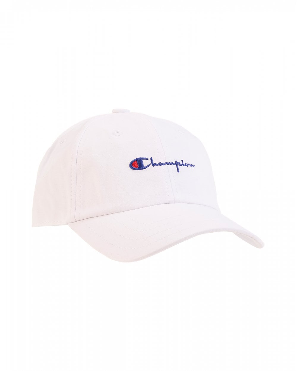 35e6cef9a00 Champion Mens White Script Hat