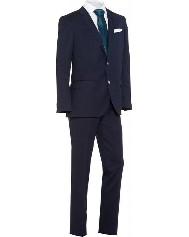 Hugo Boss Black Classic Suit Huston2/Gander Navy Slim Fit Suit