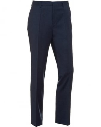 Classic Trousers Genesis 2 Petrol Blue Wool Trouser