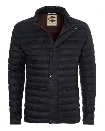 Mens Field Jacket, Light Weight Navy Jacket