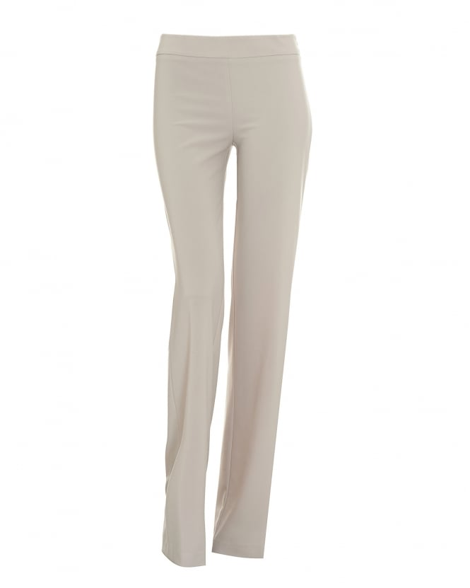 Wide thing, you make my heart sing! We're in love with our Dietrich trousers, created in a soft yet structured cotton in a classic washed navy shade. Giving a relaxed smart casual vibe, these trousers feature a vintage-inspired high waist fit fastened with a large tortoiseshell button, a wide cropped leg .