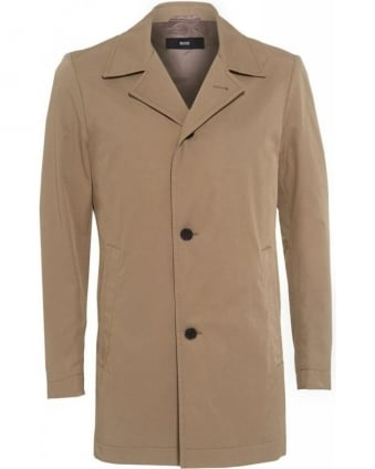 'Dais 5' Beige Slim Fit Rain Coat