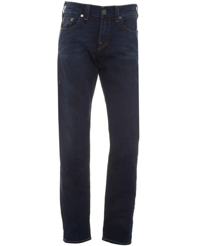 True Religion Jeans Dark Denim 'Geno' Slim Fit Jeans