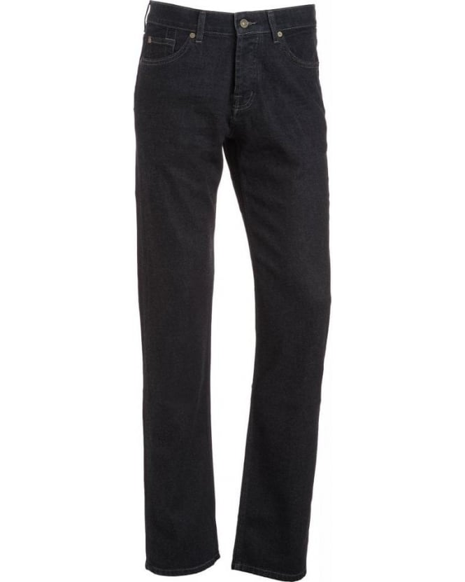 For All Mankind Dark Rinse 'Standard' Straight Cashmere Jean