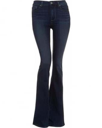 Dark Wash High Rise Canyon Nottingham Flare Jeans