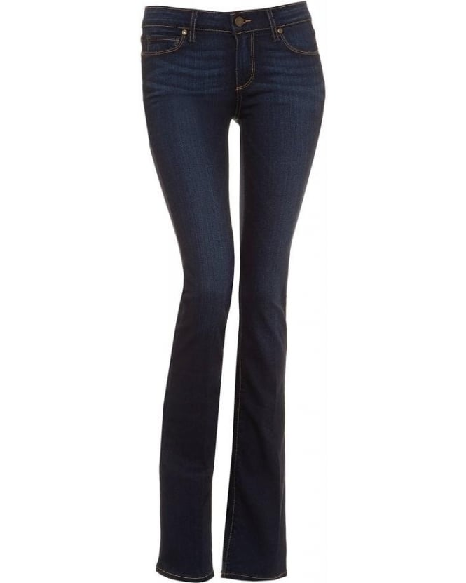 Paige Jeans Dark Wash Manhattan Boot Cut Armstrong Jeans