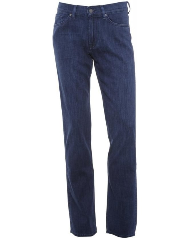 For All Mankind Dark Whisker Slimmy Luxe Performance Jeans