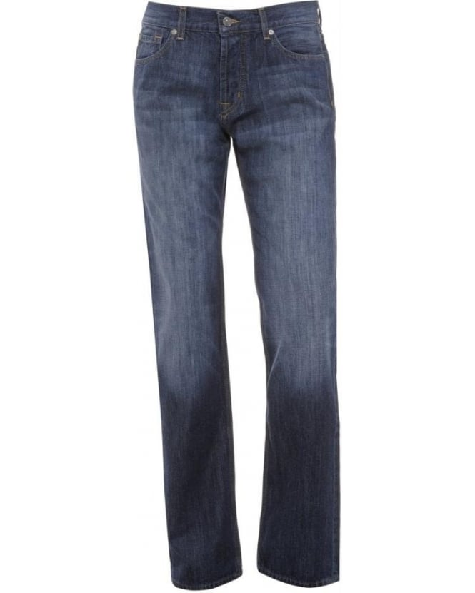 For All Mankind Dark Whisker Standard New York Jeans