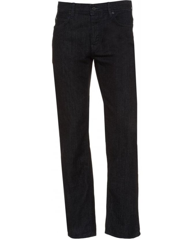 Hugo Boss Green 'Deam 20' Dark Clean Regular Fit Jean