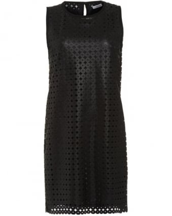 Dress Black Faux Leather 'Sidney' Dress