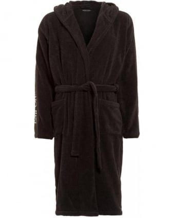 Grey Logo Dressing Gown