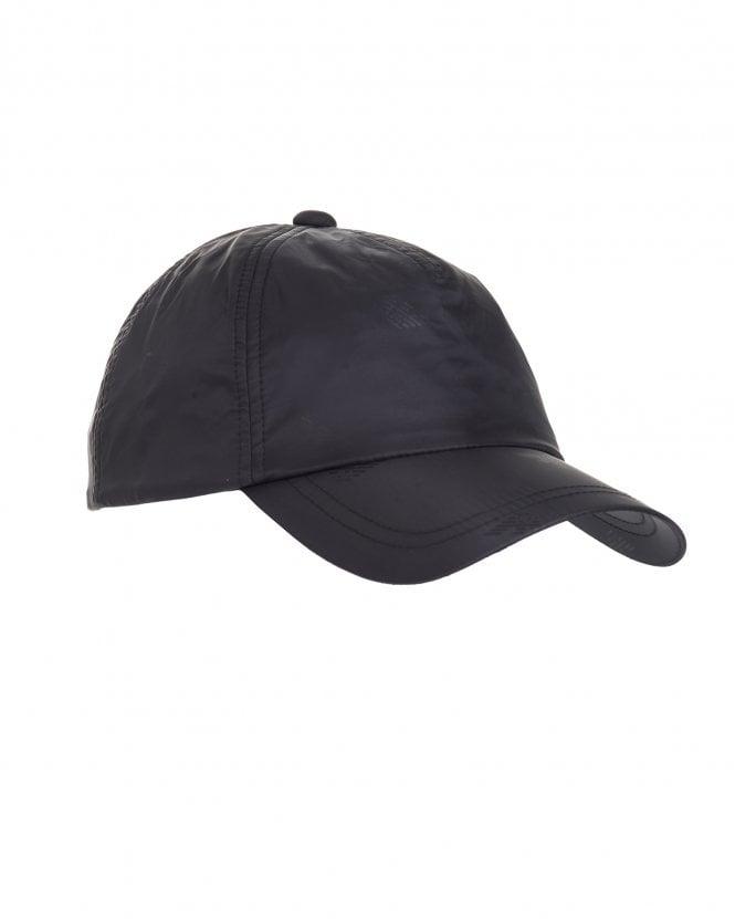 33e4d6f4 Mens All Over Logo Baseball Cap, Black Hat