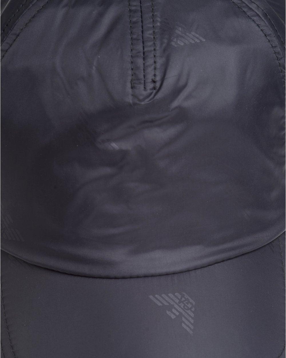 c11cfb89c16 Emporio Armani Mens All Over Logo Baseball Cap