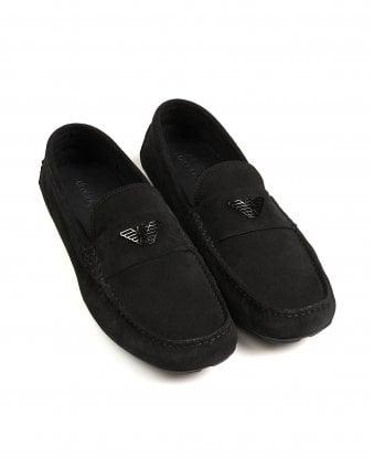e322623b5d5 Mens Black Driver Shoes