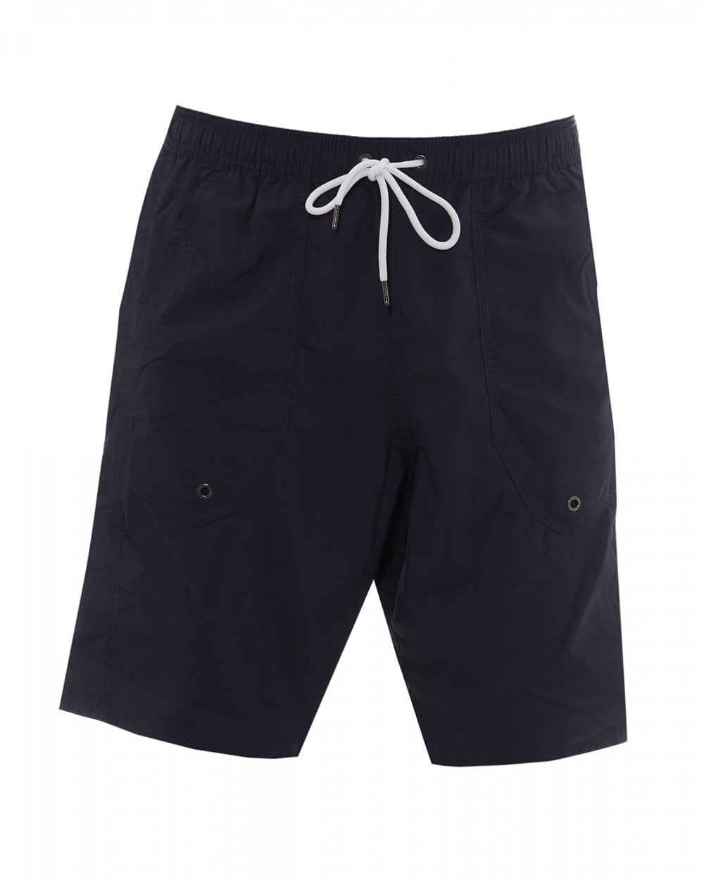 0c3f54e897 Emporio Armani Mens Broadshort Swimming Trunks, Navy Blue ...