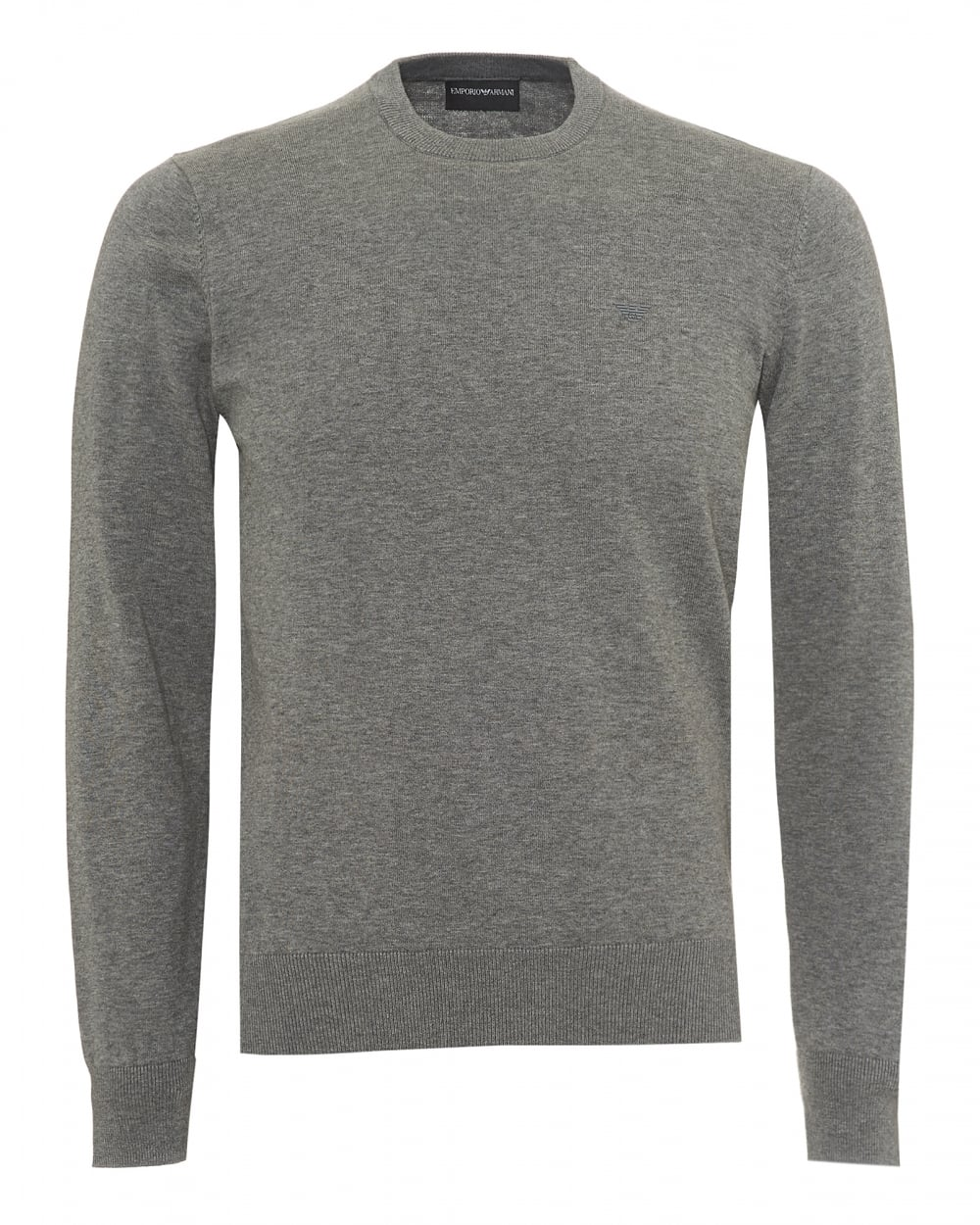 sito affidabile 57cb8 b0f21 Mens Contrast Subtle Piping Knit, Regular Fit Grey Jumper