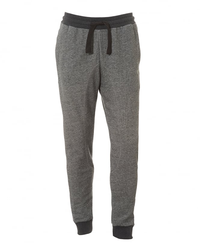Emporio Armani Mens Grey Trackpants, Regular Fit Logo Sweatpants