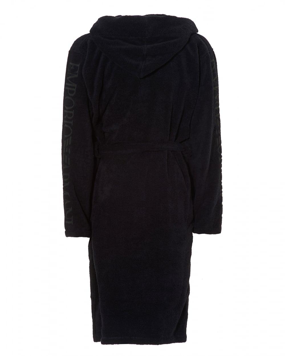 d905e2f0ff Emporio Armani Mens Hooded Robe