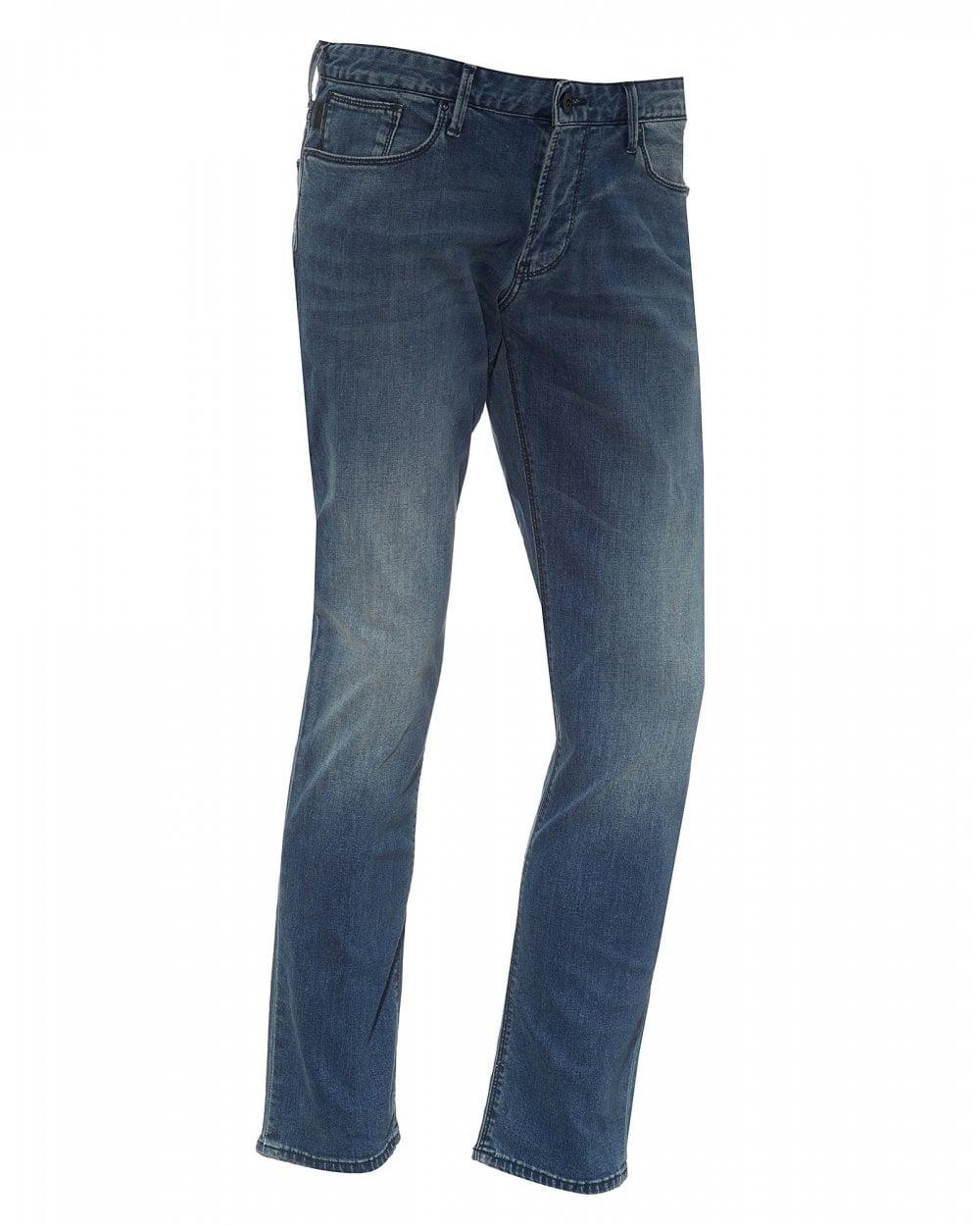 e5408b39 Mens J06 Light Blue Denim, Slim Fit Jeans