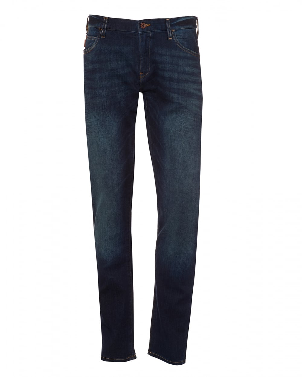 Emporio Fit Mens Slim JeansVintage Extra Wash Armani J10 Navy 3LR5A4jq