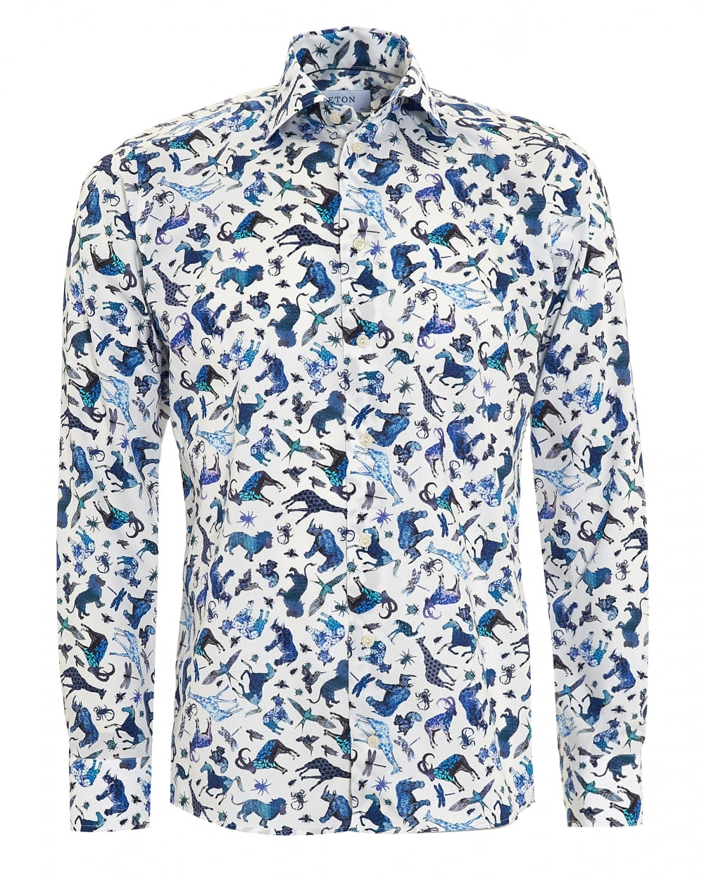Men's printed shirts areakey pieces in any closet. Choose sophisticated paisley prints or sportier styles with camo or floral designs. Incorporate a printed shirt into .