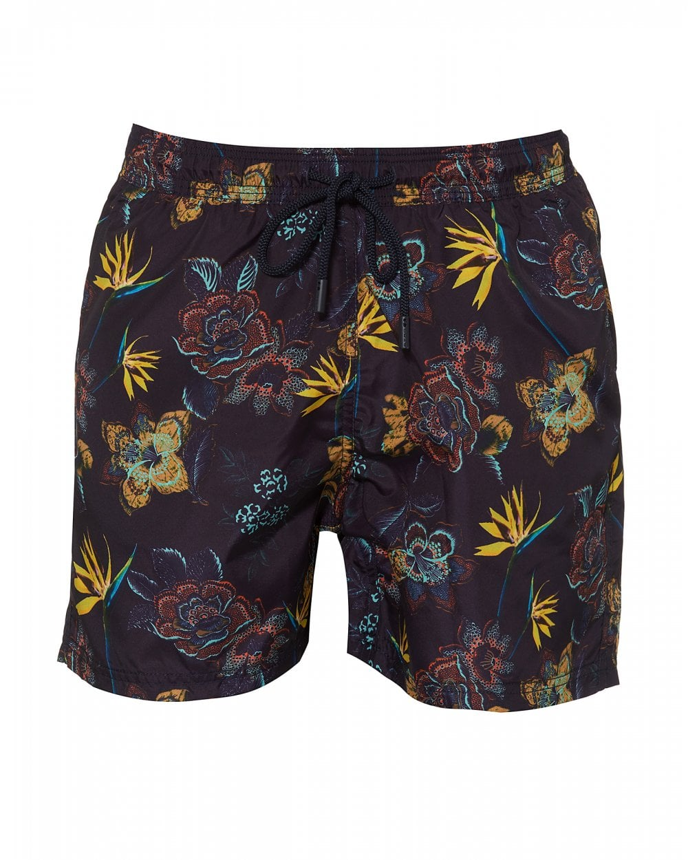 a2f5ce92e9 Etro Mens Blue Floral Print Swimshorts, Multicoloured Swimming Trunks