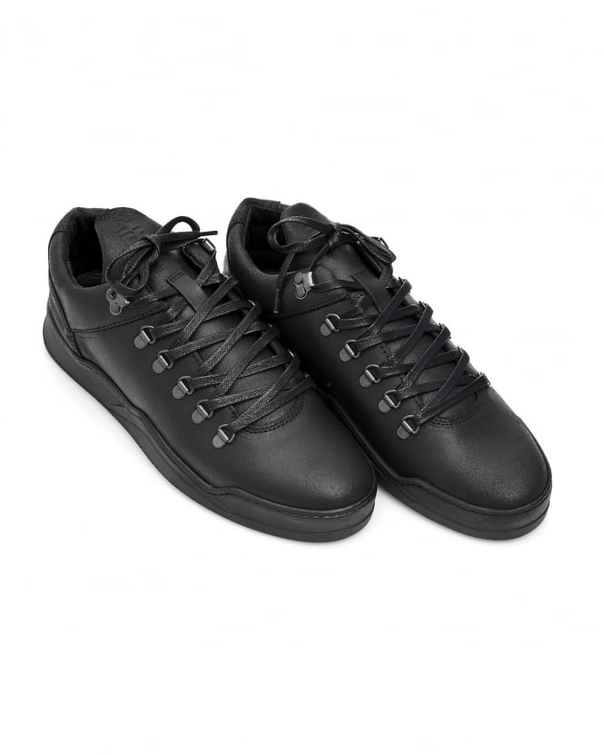 Filling Pieces Mens Mountain Cut Trainers, Ghost Black Sneakers