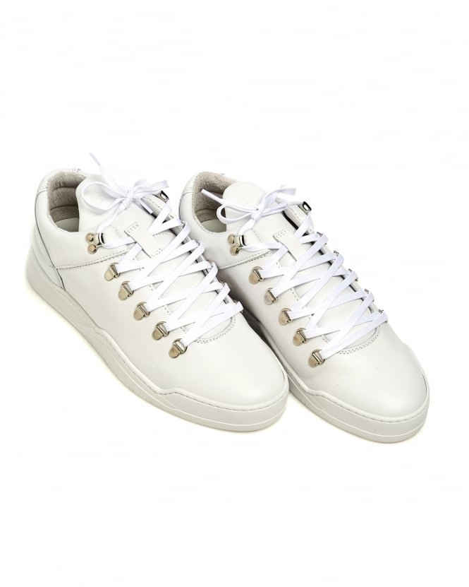 Filling Pieces Mens Mountain Cut Trainers, Ghost White Sneakers