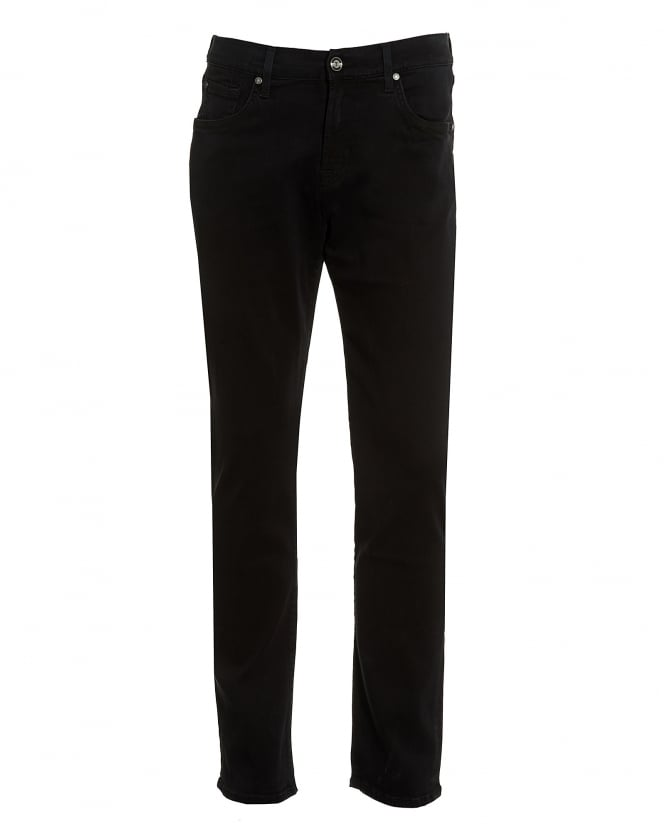 For All Mankind Luxe Performance Plus Jeans, Black Rinse Jeans