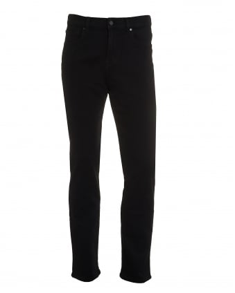 Mens Slimmy Jeans, Luxe Performance Black Denim