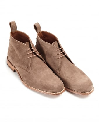 Mens Marcus Derby Almond Suede Boot