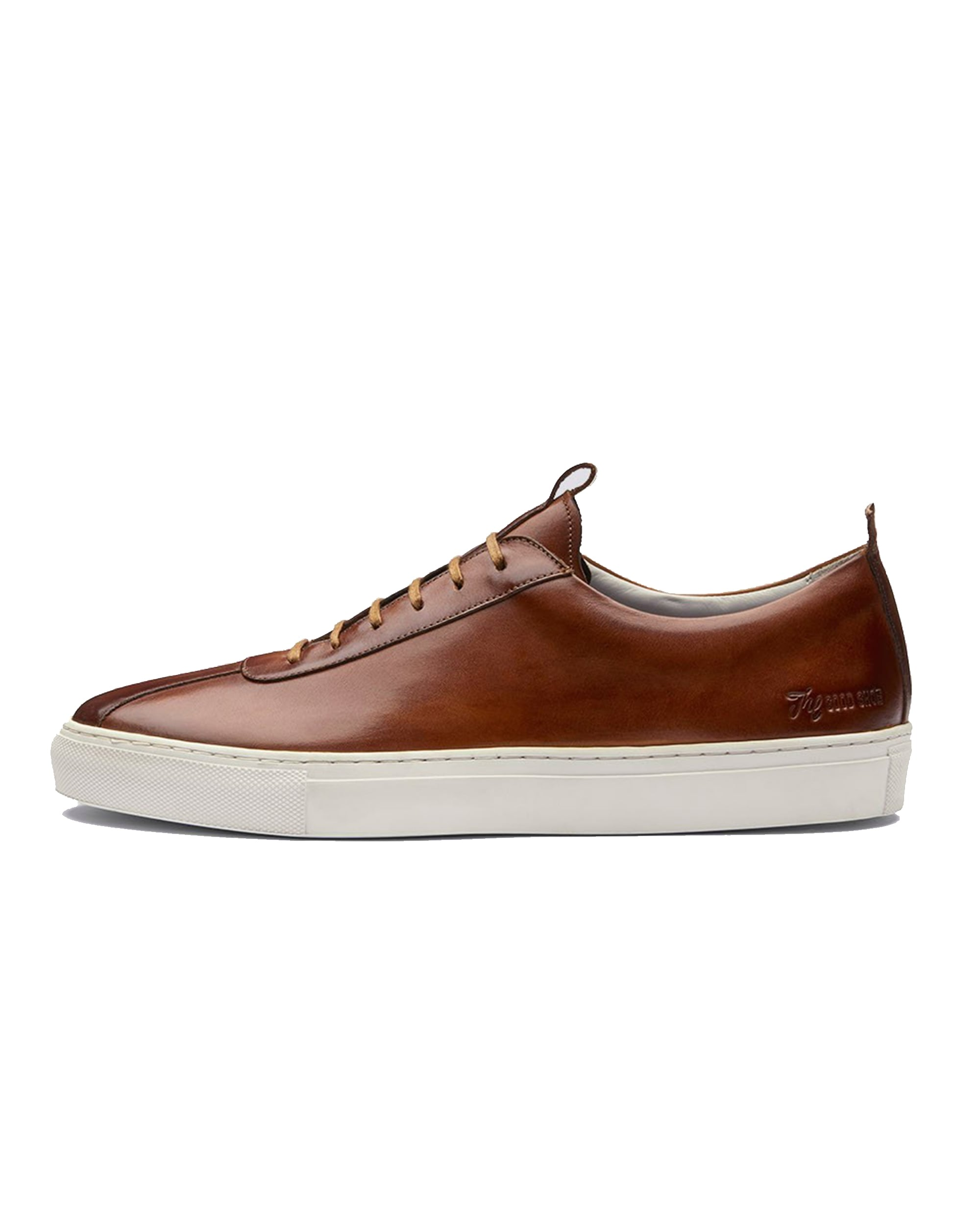 Grenson Mens Sneaker 1 Tan Lace Up Leather White Cup Sole Trainer b16e7ee8c