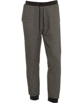 Grey Anthracite Long Pant Cuffs Tracksuit Bottoms