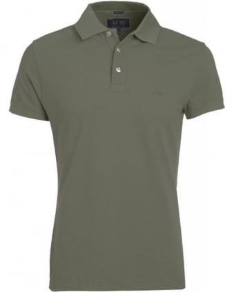 Grey Polo Shirt Muscle Fit Polo