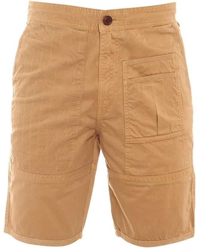 Barbour Heritage Mens Shorts Wataka Pocket Slim Sand Short