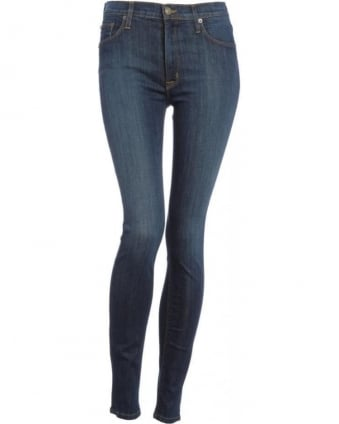 Mid Wash Siouxsie High Waist Skinny 'Barbara' Jean