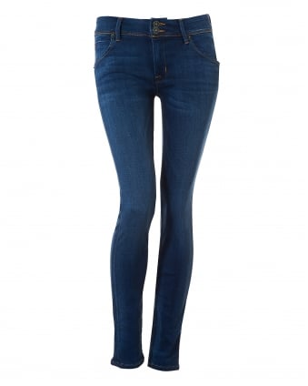 Womens Colin Jeans, Mid Wash Revelation Denim